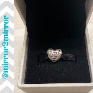 🎄Auth. Pandora Cinderella heart charm